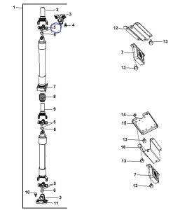 Cruzeta do Cardan Traseiro Dodge Ram